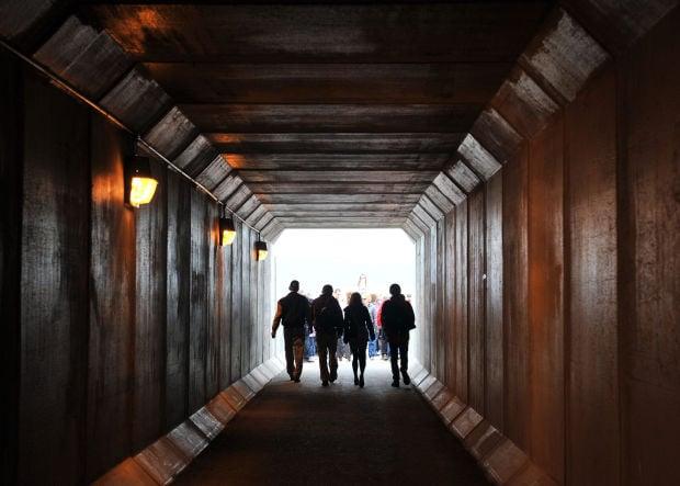 I-15 tunnel ribbon cutting