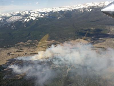 Elk Creek fire