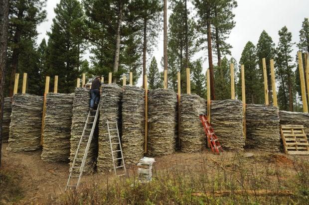 Blackfoot Pathways Sculpture in the Wild