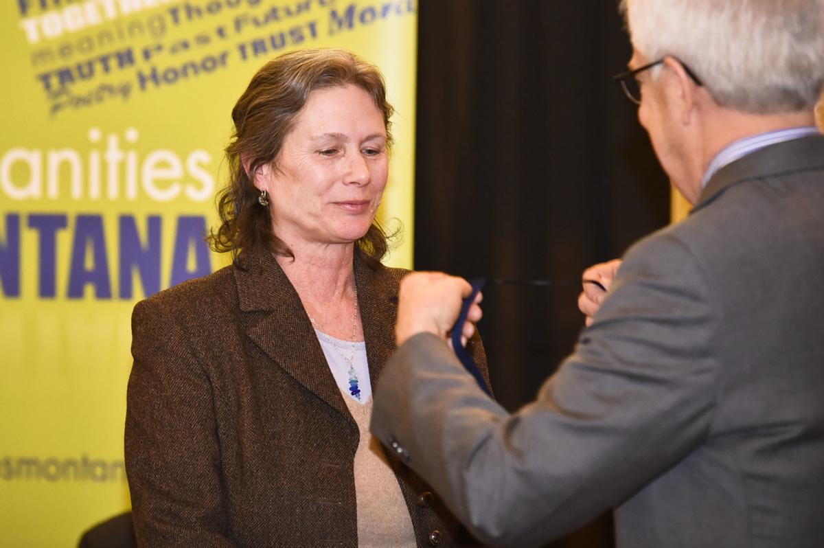 Stephenie Ambrose Tubbs receives the Governor's Humanities