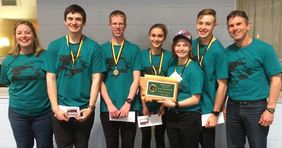 Helena High Team wins Envirothon