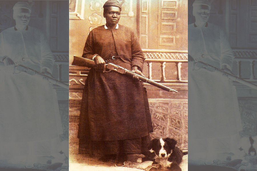 """Mary Fields, also known as """"Stagecoach Mary,"""""""