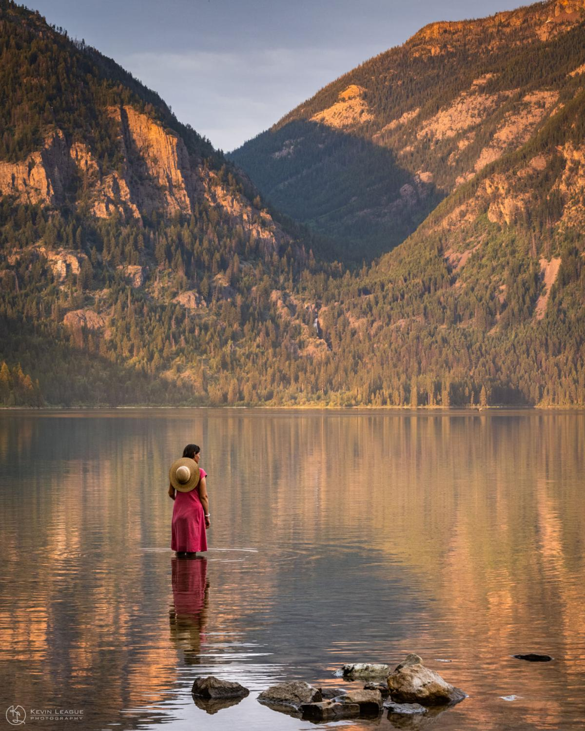 """""""Quiet Contemplation at Holland Lake."""""""