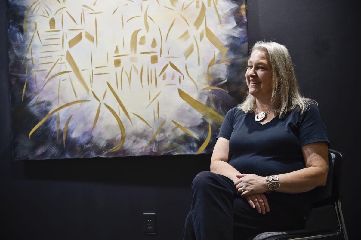 Clancy-based artist Linda McCray talks about her art work,