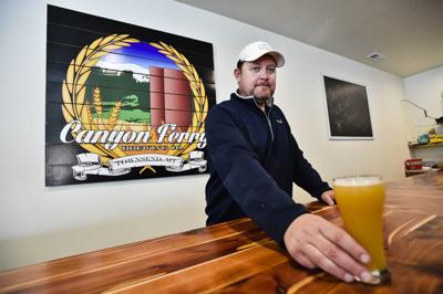 Tadd Fuhrman, owner of Canyon Ferry Brewing
