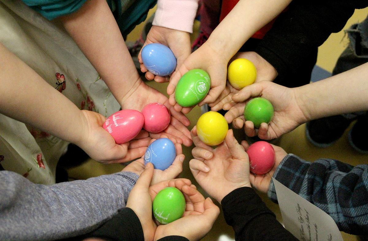 Intermountain Easter eggs