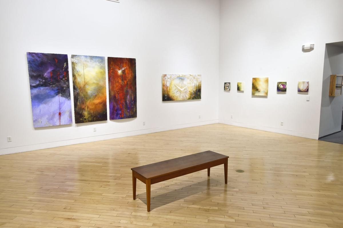 Clancy-based artist Linda McCray art work on display