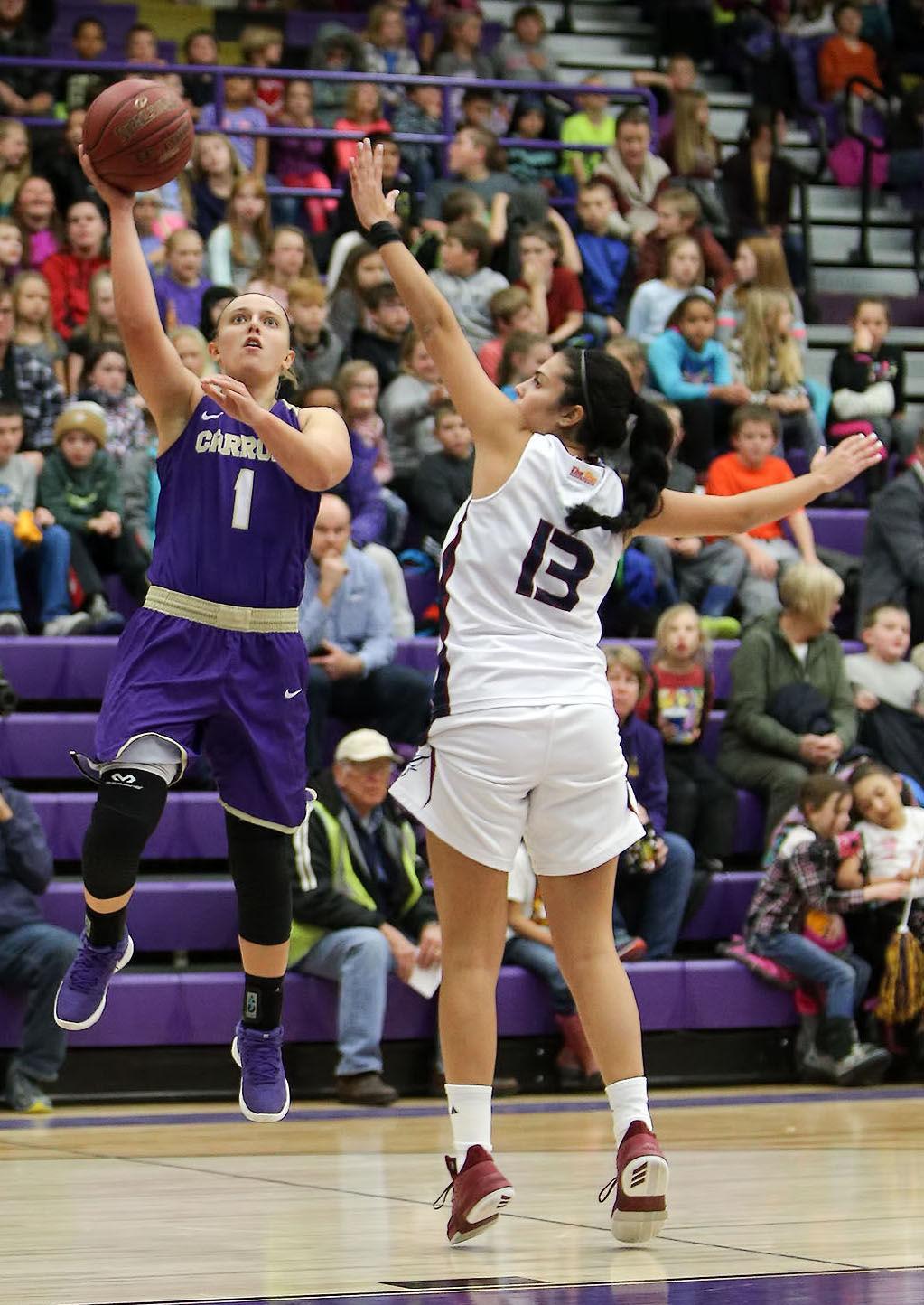 womens basketball; CC vs St Thomas