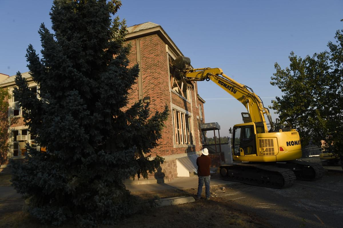 The demolition of Central School begins Monday morning.