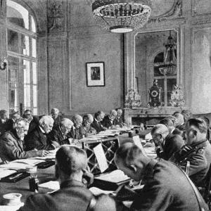 1919: Treaty of Versailles