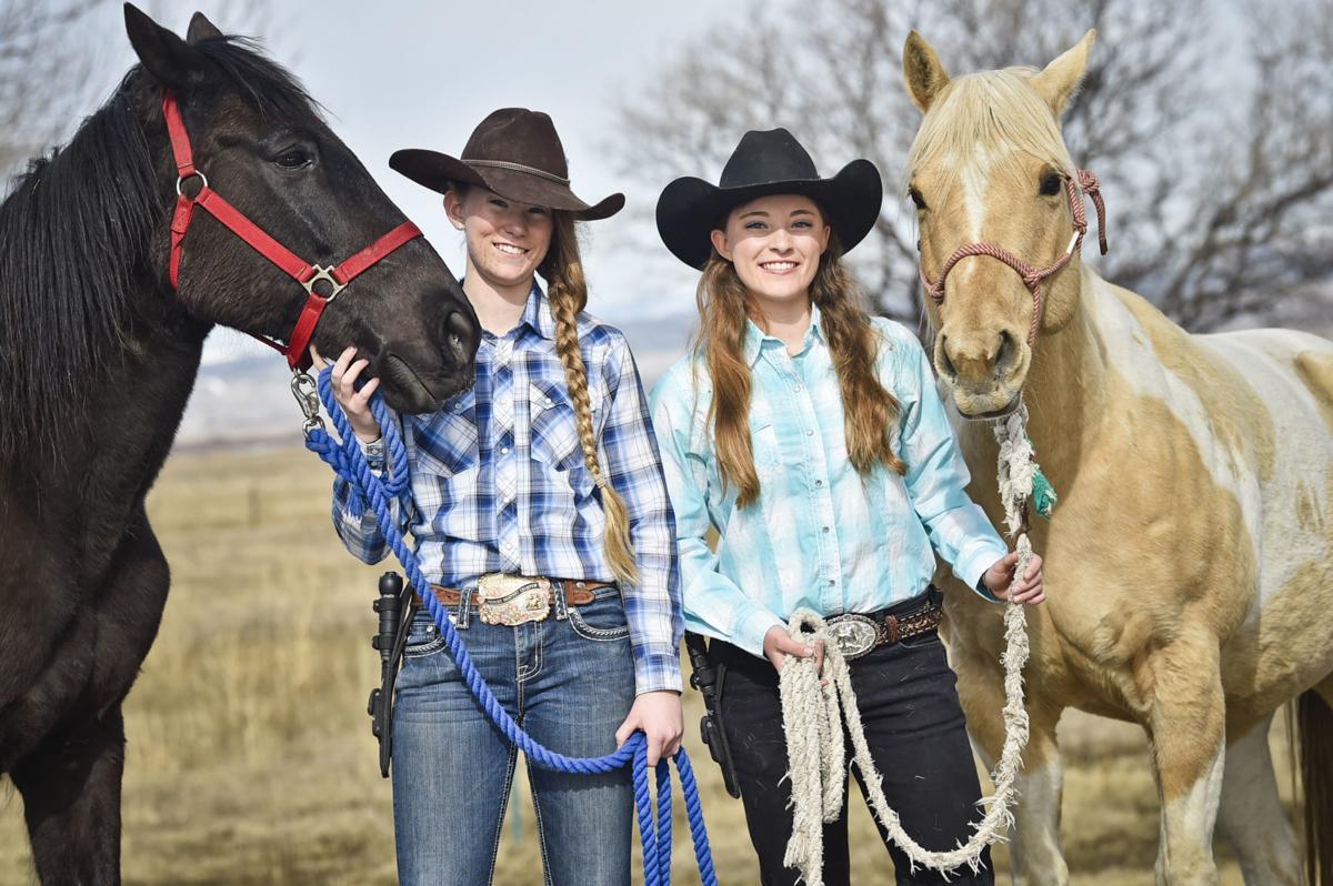 Olivia Bratton, left, and Aspen Dean hope