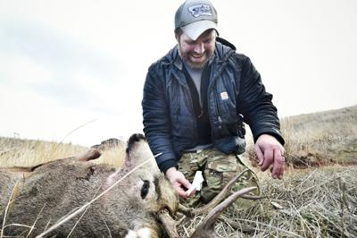 Purple Heart recipient bags buck at Fort Harrison in special hunt