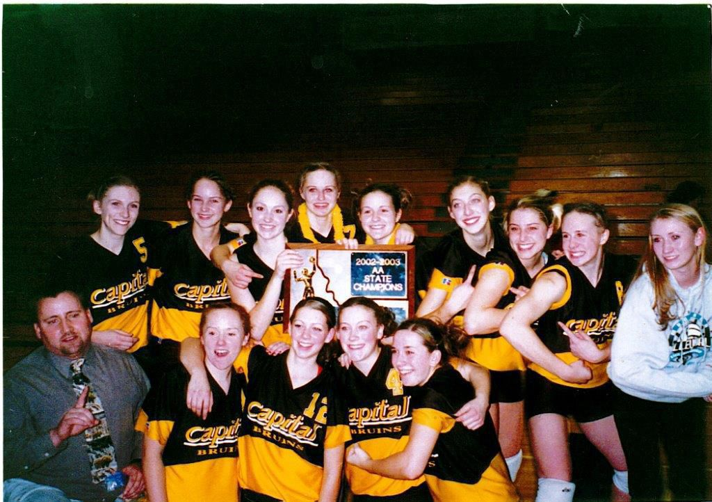 Capital High volleyball, 2002