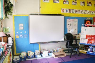 School classroom stock