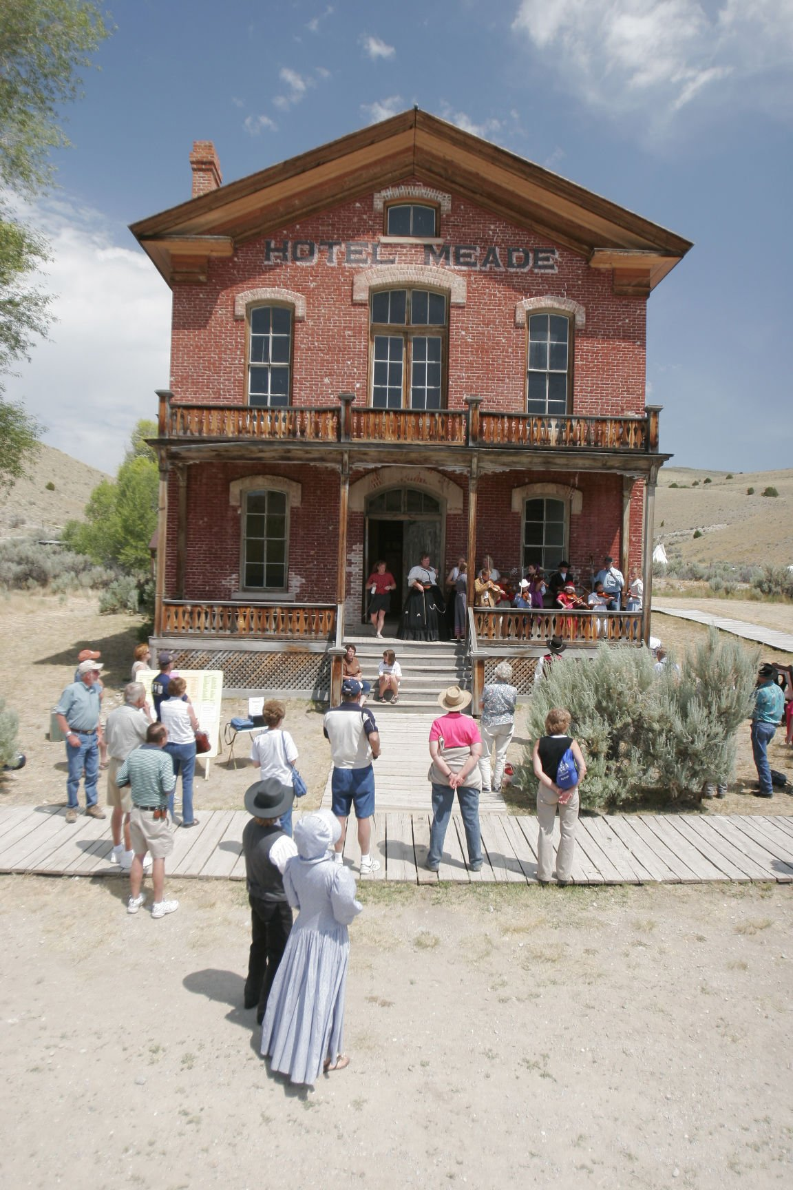 Hotel Mead at Bannack