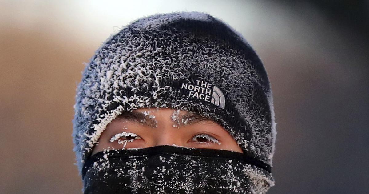 APTOPIX Dangerous Temperatures Minnesota