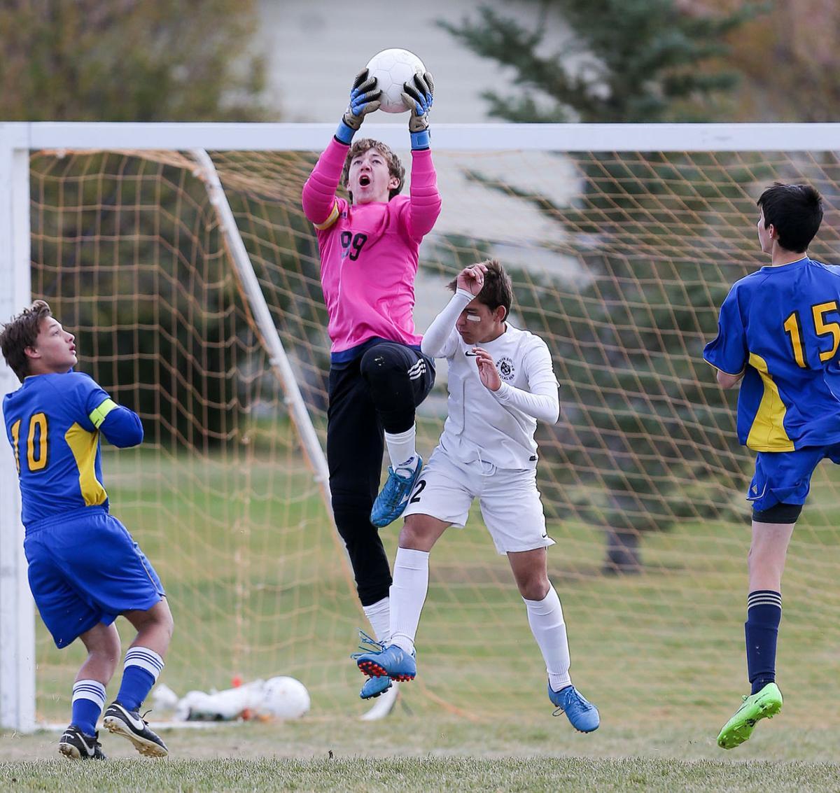 Boys Soccer; CHS vs Big Sky