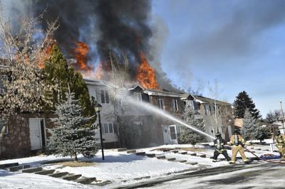 Raymond St. structure fire