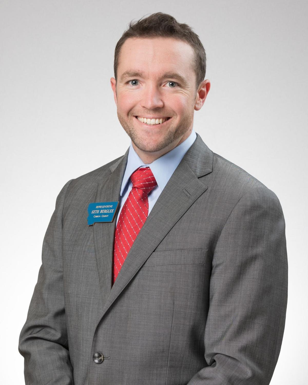 Rep. Seth Berglee, R-Joliet