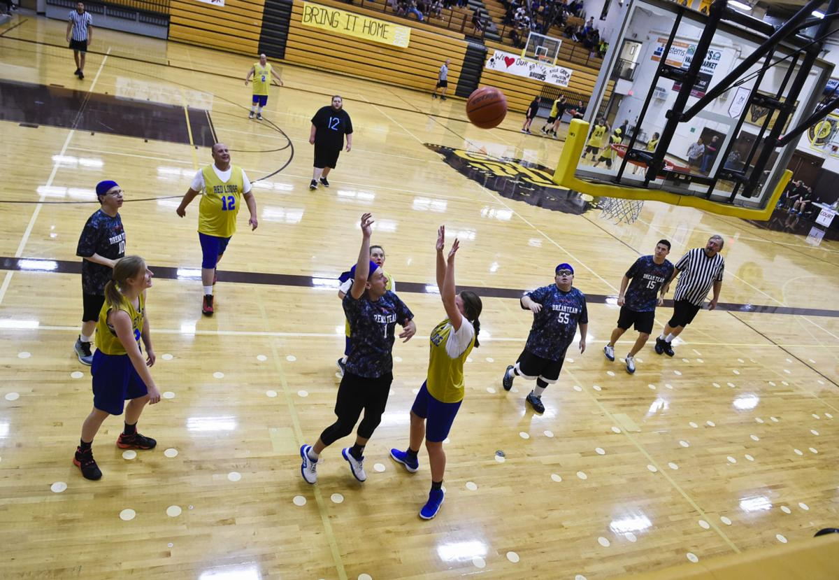 Feature Photo: Special Olympics State Basketball Tournement