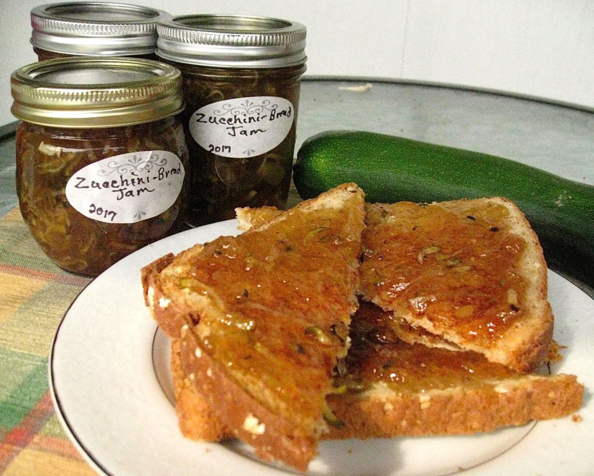 Zucchini-bread jam