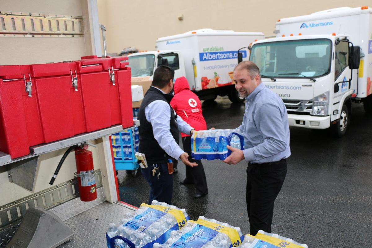 Disaster relief donations