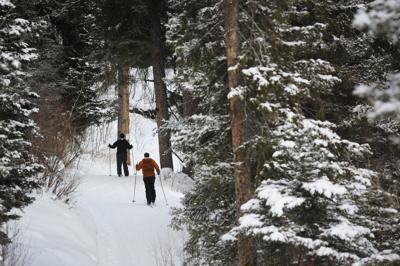 MacDonald Pass skiing