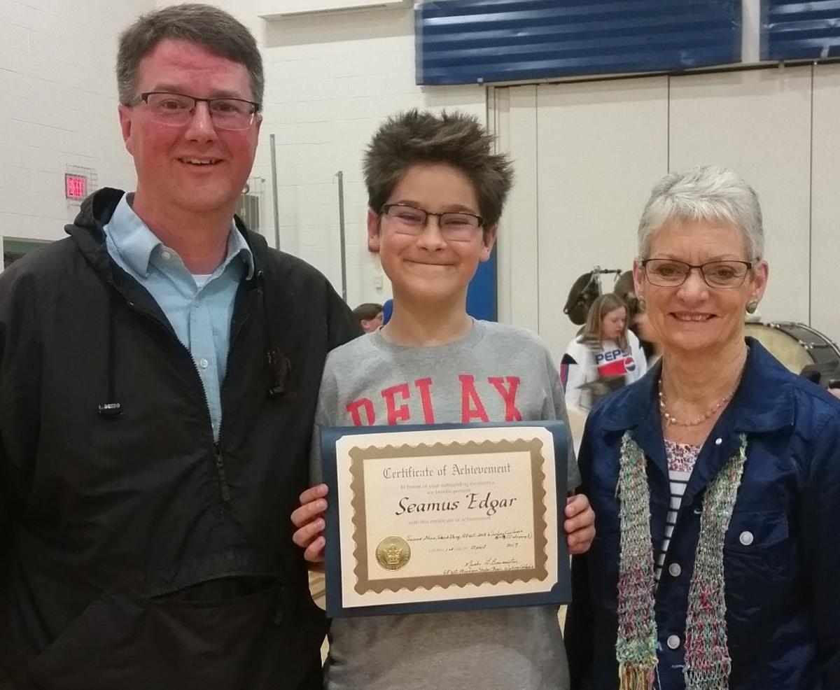 Student wins writing award