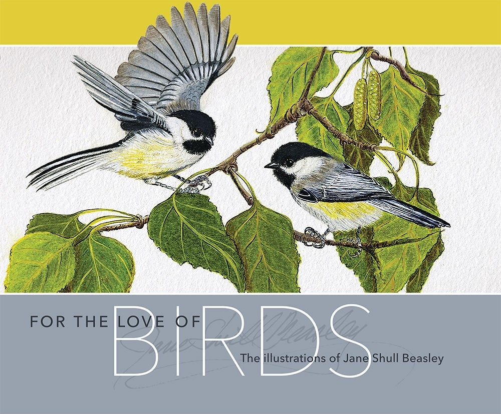 The cover of 'For the Love of Birds'