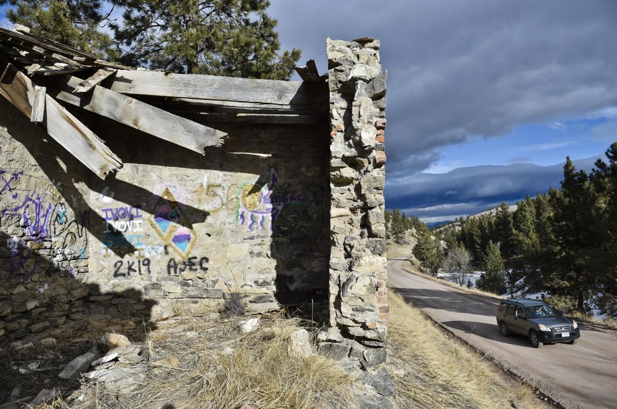 Davis Gulch lime kilns vandalized