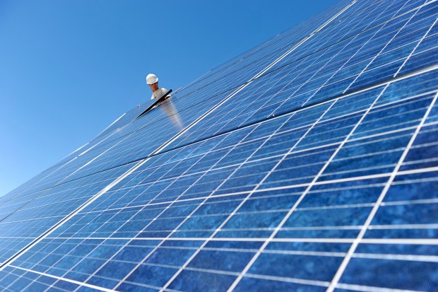 HHS installs solar panels
