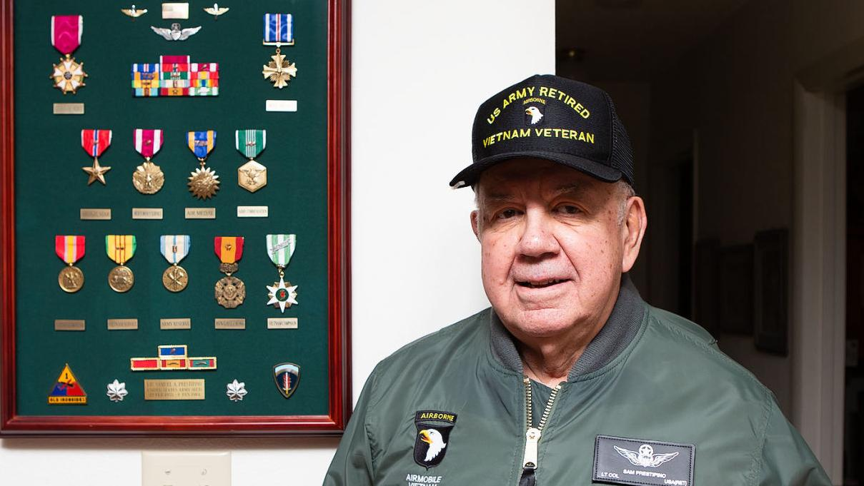 Helenans Who Served: Two-tour Vietnam helicopter pilot Sam Prestipino flew 950 hours of combat missions