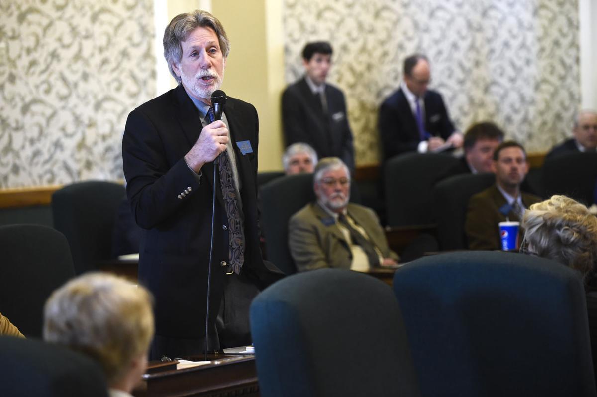 Senate Minority Leader Jon Sesso, (D-Butte)