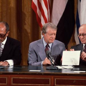 1978: Camp David Accords