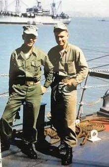 Marine Cpl. Jim Heffernan at Incheon