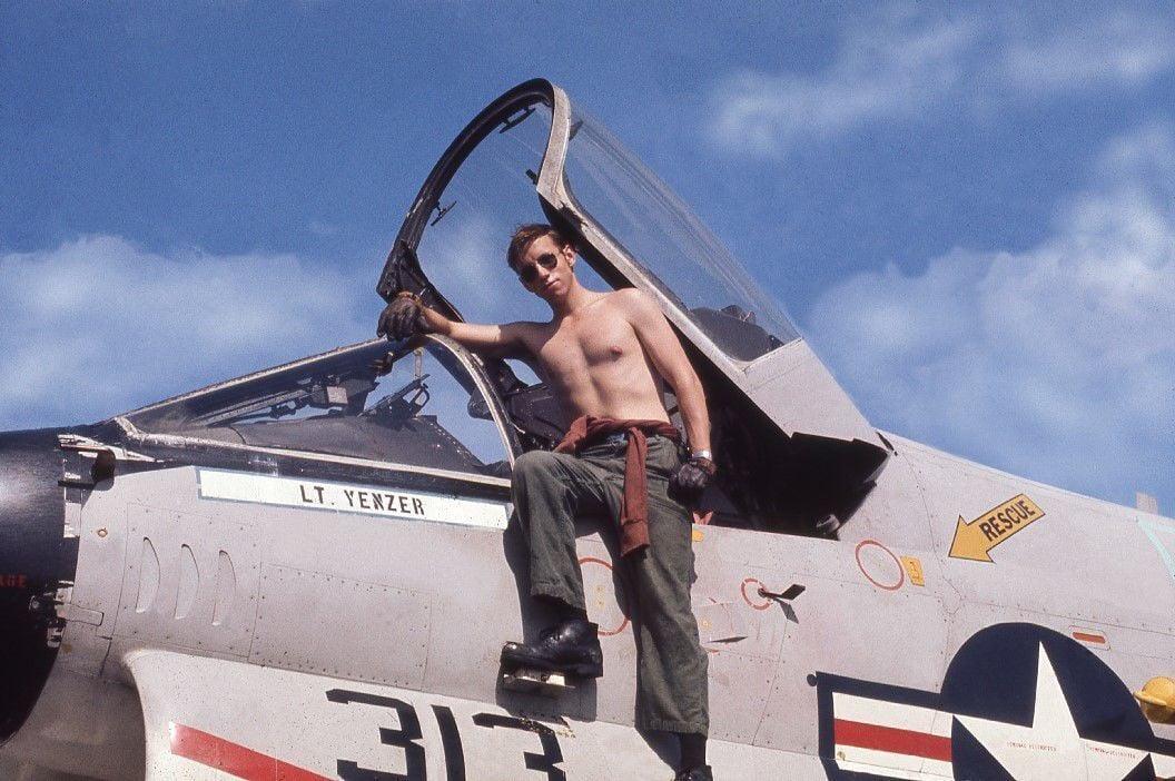 Jeff Kindrick and his A-7E.jpg