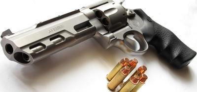 gun guns .44 magnum bullets handgun pistol firearm weapons