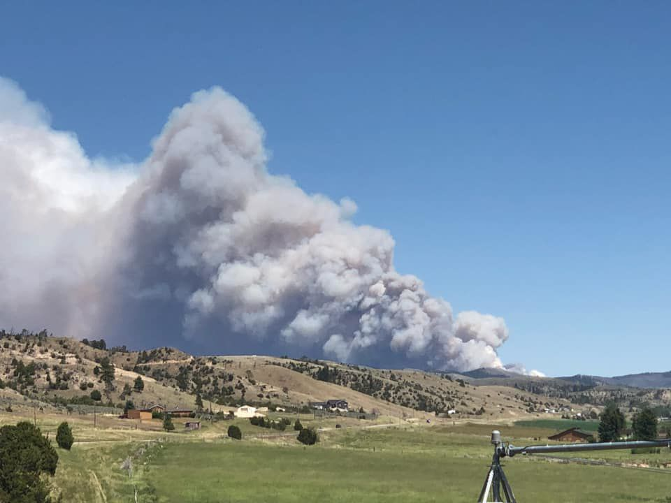 The Deep Creek Canyon Fire