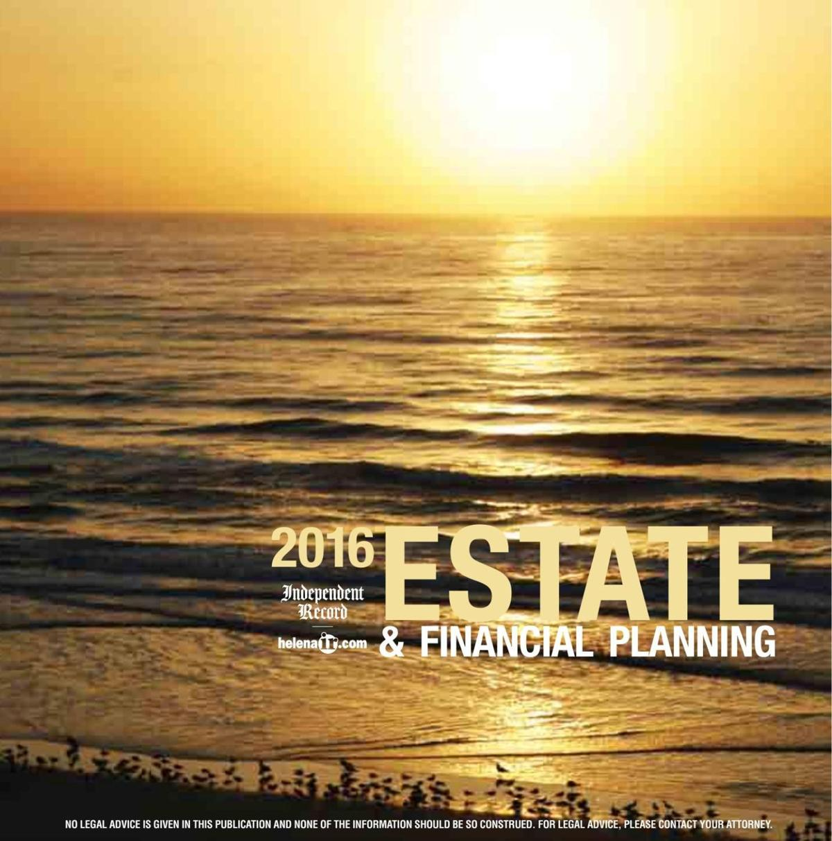 The Estate and Financial Planning Guide