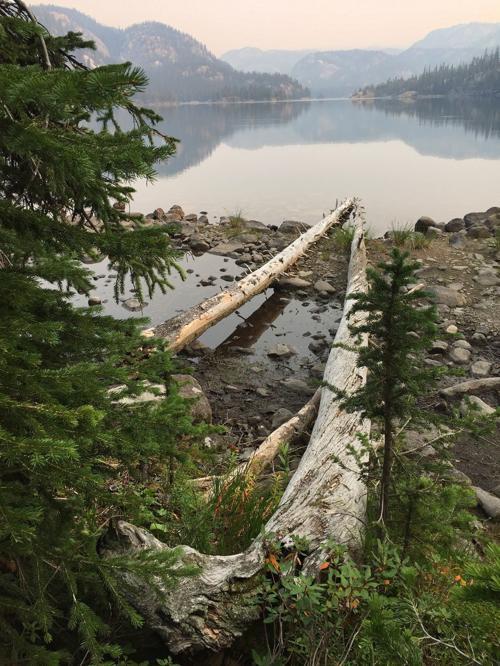 Granite Lake haze
