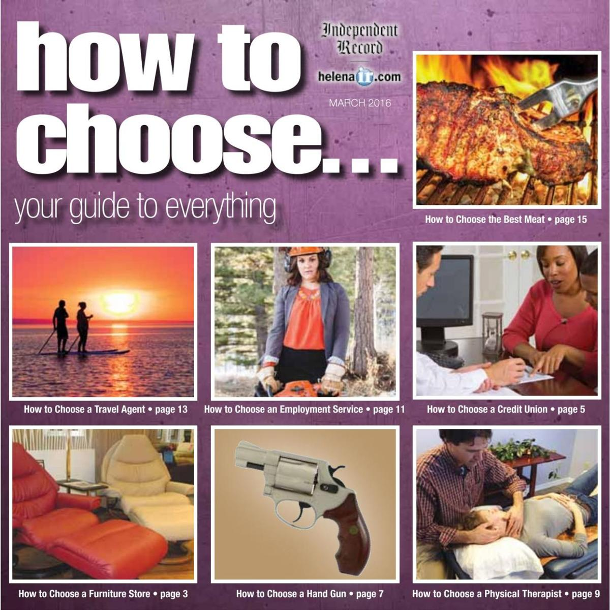 How to choose | March 2016