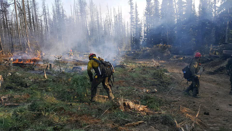 Trail 467 Fire