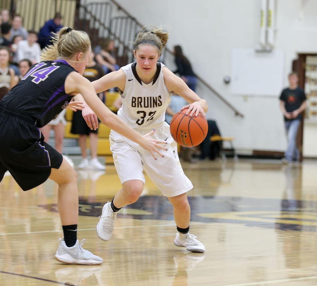 girls basketball; CHS vs Sentinel