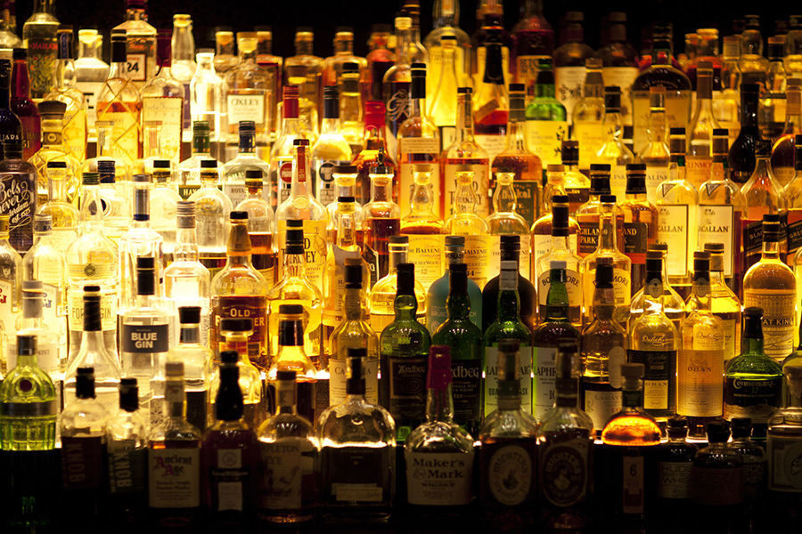 liquor alcohol stockimage