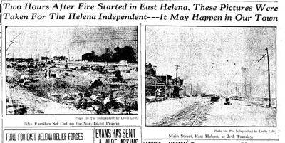 100 years ago today, massive fire torched East Helena