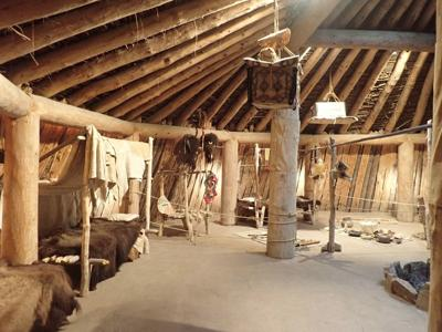 A look inside the earthlodge provides an enchanting glimpse into life in an earthlodge village.