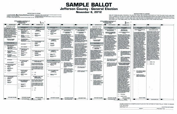 See sample ballots | Local | helenair.com