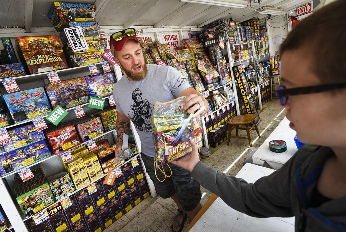 Expo Tnt Stands : Officials remind of fireworks regulations for independence