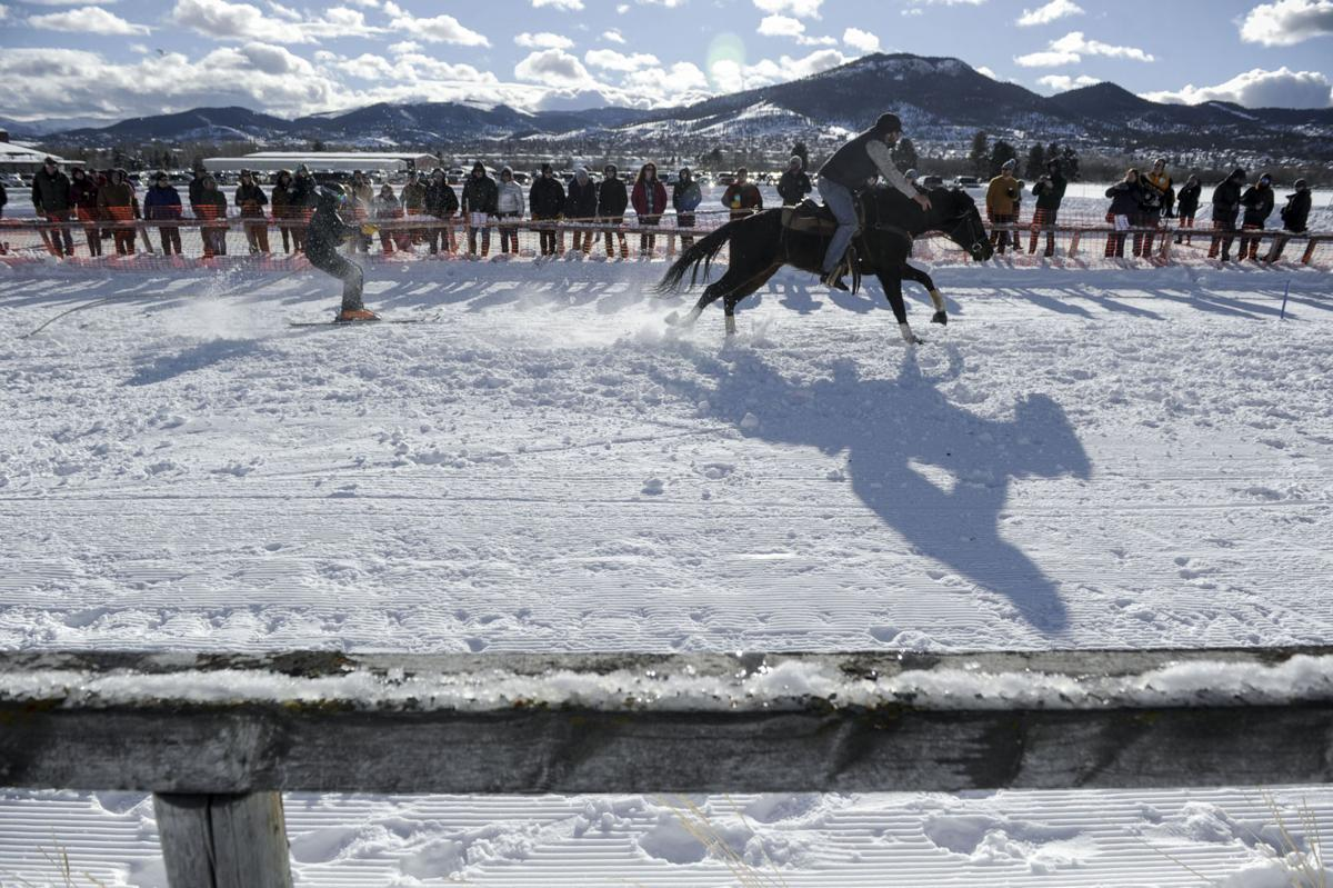 Last Chance Skijoring: Race for the Gold 2