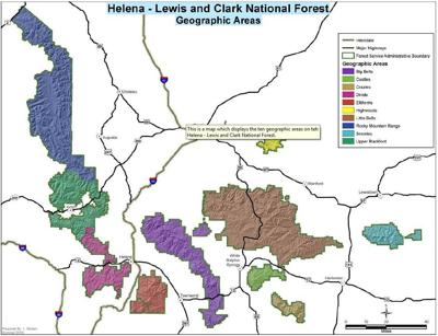 Helena-Lewis and Clark National Forest